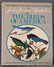 AUDUBON J J The Original water color paintings by John James Audubon for the Birds of America EE UU 1966